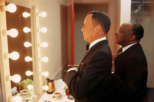 American Singer Frank Sinatra and Count Basie