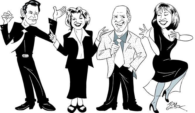 Manhattan Transfer toon
